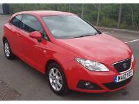 2012 Seat Ibiza S Copa Red Manual 3 Dr 1.2L *FSH* *New MOT*