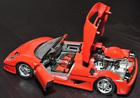 Burago 1/24 diecast models assorted