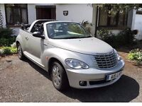 CHRYSLER PT CRUISER(LIMITED EDITION)CONVERTIBLE 2.4 MILEAGE 30890