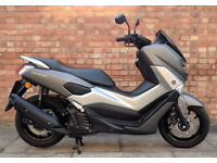Yamaha NMAX 125cc (17 REG) in grey, One owner with ONLY 210 miles!