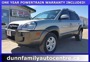 2008 Hyundai Tucson GL V6 Heated Seats!