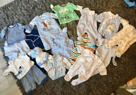 Baby boys first size bundle