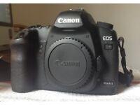 Canon 5D MkII full frame DSLR
