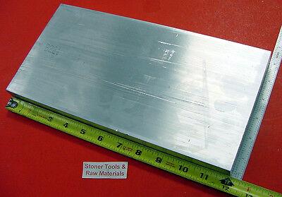 1 X 6 6061 Aluminum Flat Bar 12 Long T6511 1.00 Solid New Mill Stock