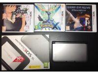 Nintendo 3DS XL + 3 games