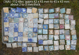 Mosaic tiles for hobby projet
