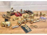 Door knobs, locks bits and bobs