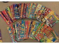 Collection of Simpsons & Futurama Comics
