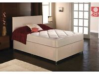 NEW DOUBLE CANDY DIVAN BED ONLY £99