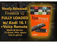 AMAZON FIRE STICK WITH VOICE REMOTE