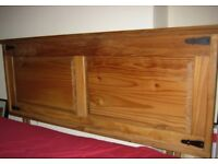 FREE TO COLLECT TOWN CENTRE Pine Double Headboard