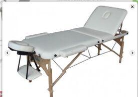 Portable massage/beauty bed. Salon quality