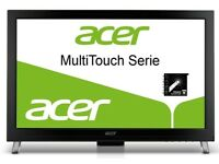 Acer T231H 23 inch Touchscreen TFT Monitor HDMI, Speakers, Black