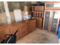 Home Office Furniture - Corner desk, filing cabinets, cupboards & chair