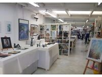 Artist Studio Space in Shared Workshop. Bright and warm space £55pw inc wifi & bills