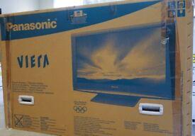 """Panasonic TH-42PZ80B 42"""" Viera Full HD 1080p Plasma TV Boxed & complete"""