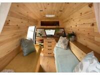 Rustic Camper Van Conversion