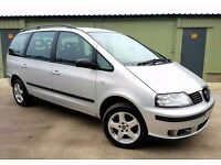 SEAT ALHAMBRA 1.9 DIESEL 7 SEATER CHEAP £895