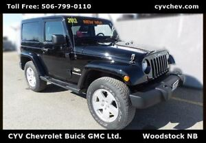 2012 Jeep Wrangler Sahara $15/Day - Heated Leather & Hard Top