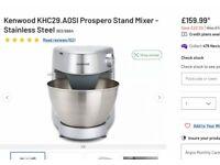 Kenwood prosperous food mixer brand new sealed