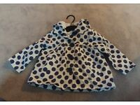 Girls coat size 12-18 months