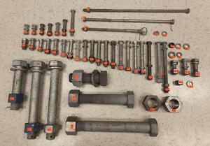 Galvanized Bolts, Nuts, Washers - QUANTITIES