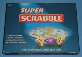 'Super Scrabble' Board Game