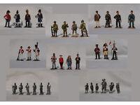 De Prado Men at War Die Cast Metal Soldiers German French worl war II Hobby