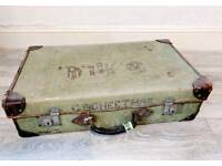 Character vintage suitcase