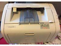HP 1018 laser jet printer