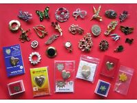 A Selection of Brooches and Novelty Brooches