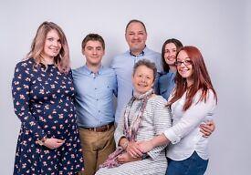 Freelance Photographer (Family Portrait,Christening,Event,Business Balls,Engagement)