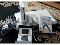 Nintendo Wii console and Nintendo ds