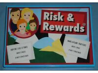 'Risk & Rewards' Board Game (as new)