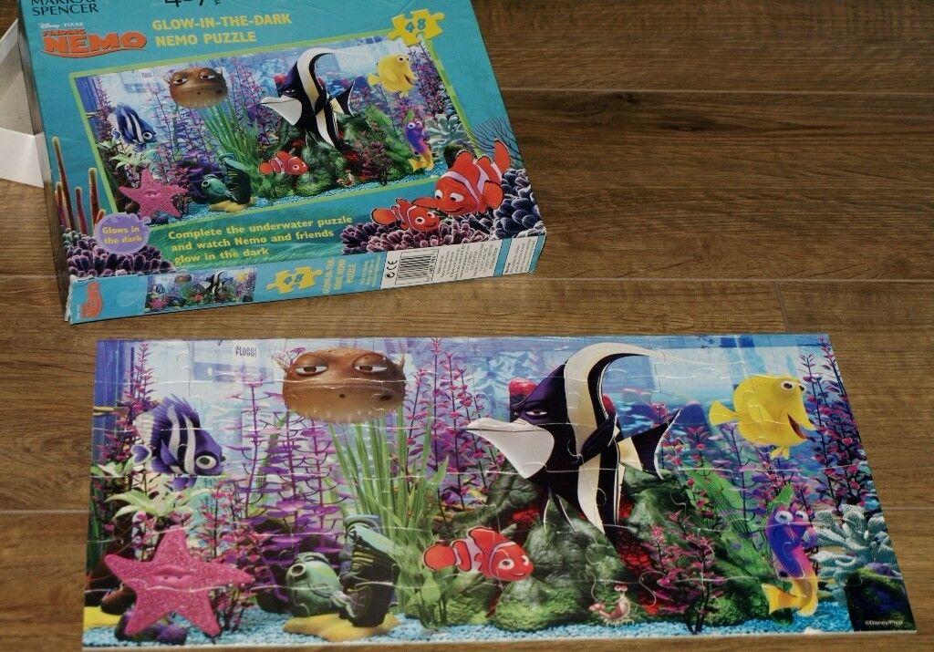 48 Piece. Glow-in-the-dark Nemo Jigsaw Puzzle