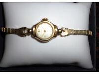 VIntage Ladies Swiss Doxa Gold Watch