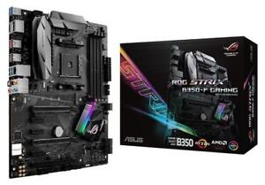 NEW ASUS ROG Strix B350-F Gaming AMD Ryzen AM4 DDR4 HDMI DisplayPort M.2 USB 3.1