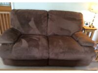 Very comfortable recliner sofa in excellent condition.