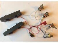 EMG J5 solder-less active pickups