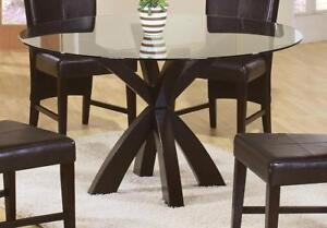 NEW Coaster Home Furnishings 101071 Casual Dining Table Base, Cappuccino