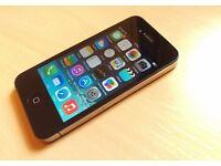APPLE IPHONE 4S BLACK, 32GB, ON 02
