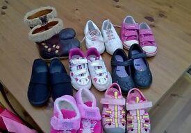 shoe bundle 6 1/2 - 7 infant
