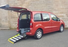 2010 60 Peugeot Partner Tepee 1.6 HDI Diesel ⭐Wheelchair Access Disabled Vehicle