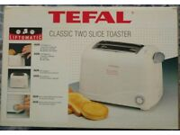 Brand New White Tefal - Classic Two Slice Toaster