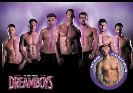 3 x FRONT ROW TICKETS FOR THE DREAMBOYS Fri 18th May at Bournemouth Pavilion