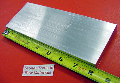 58 X 3 Aluminum 6061 Flat Bar 8 Long Solid .625 Plate T6511 Mill Stock