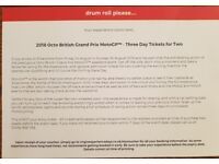 2018 Octo British Grand Prix MotoGP - 3 day tickets for 2 people at Silverstone
