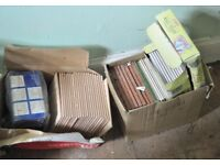 job lot of wall and floor tiles - see the photos