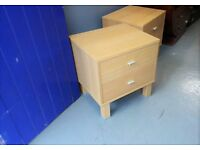 Quality Pair Bedside Tables / Cabinets