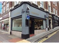 Speciality coffee shop lease for sale
